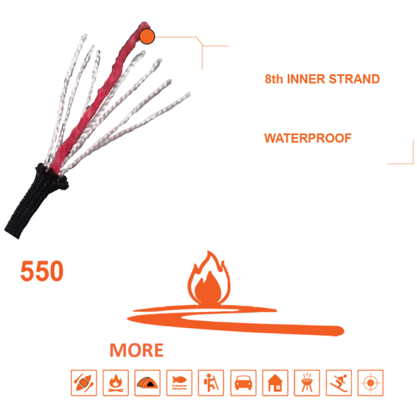 550 FireCord - It's More Than Just Paracord