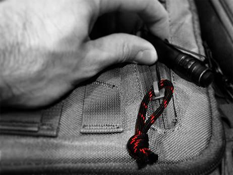 550 FireCord as Zipper
