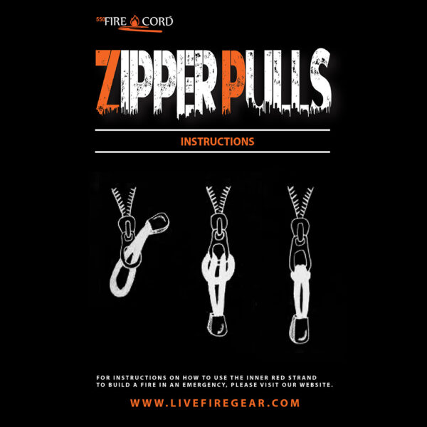 Zipper Pulls Instructions