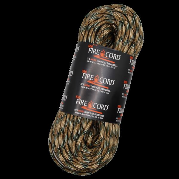 550 FireCord - MultiCam - 100 Feet