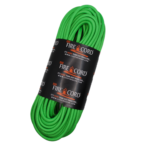 550 FireCord - Safety Green - 50 Feet