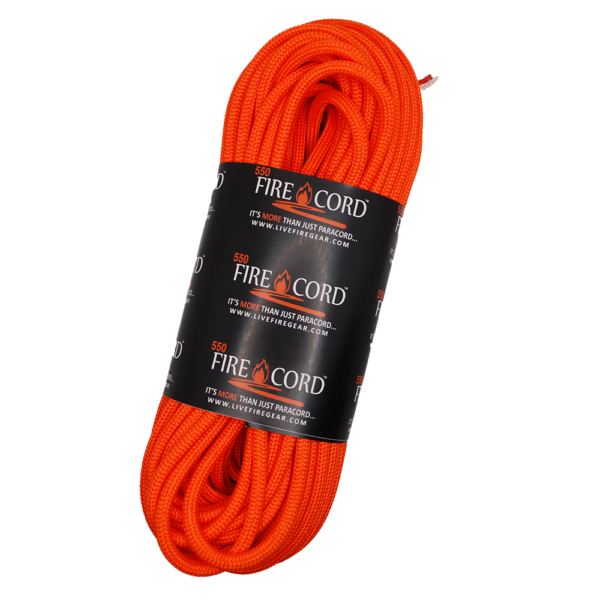 550 FireCord - Safety Orange - 50 Feet