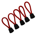 Zipper Pulls – Red