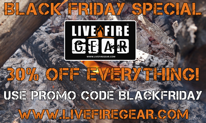 Live Fire Gear Black Friday Special