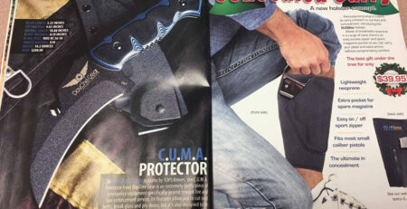 Concealed Carry Magazine C.U.M.A. Protector Article