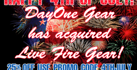 DayOne Gear Has Acquired Live Fire Gear