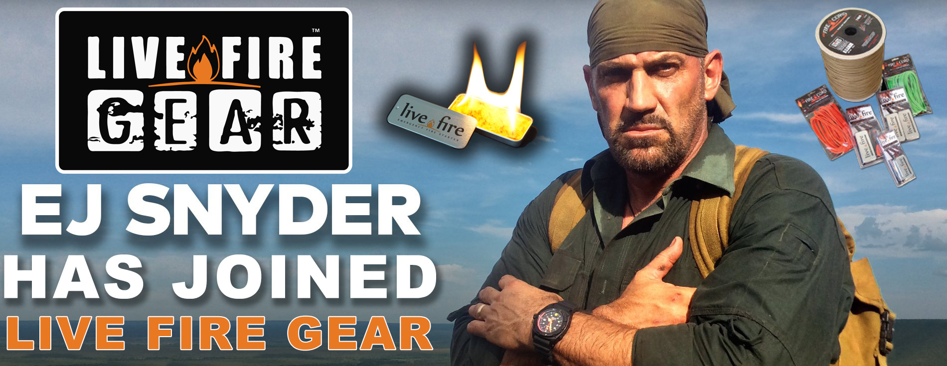 EJ Snyder joins Live Fire Gear