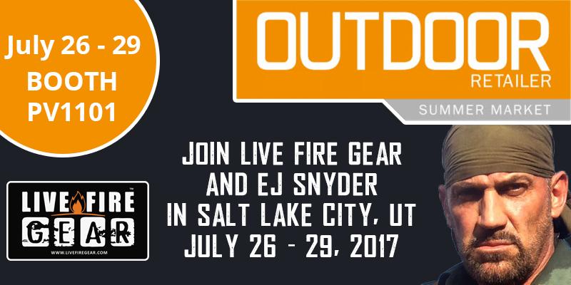 Live Fire Gear Outdoor Retailer Market