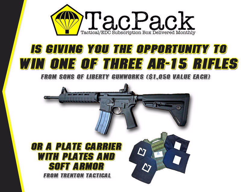 TacPack Giveaway